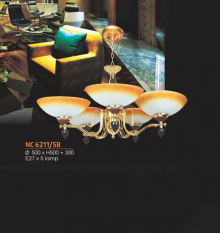 Đèn chùm cổ điển  NC 6211/5B