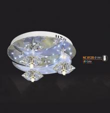 Áp trần pha lê Led tròn NC 812B
