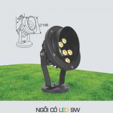 Đèn rọi cỏ sân vườn NGỒI CỎ 9W