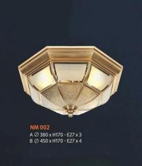 Đèn áp trần đồng NM 002