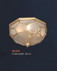 Đèn áp trần đồng NM 003