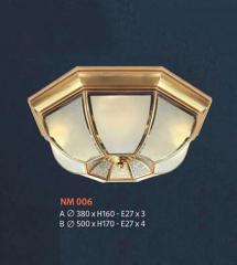 Đèn áp trần đồng NM 006