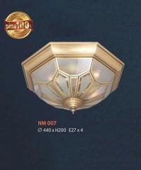 Đèn áp trần đồng NM 007