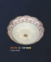Đèn áp trần đồng NM 108