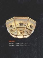 Đèn áp trần đồng NM 2211