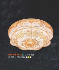 Áp trần pha lê Led tròn NM 51899
