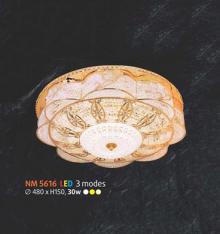 Áp trần pha lê Led tròn NM 5616