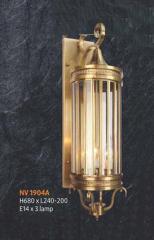 Đèn tường đồng NV 1904A