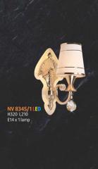 Đèn tường thủy tinh  NV 8345/1