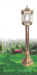 Đèn trụ sân vườn thấp NVT 334C