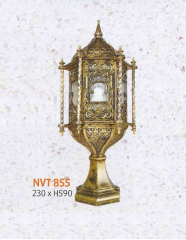Đèn trụ cổng NVT 855