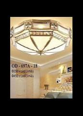 Đèn áp trần đồng OD 697A-18