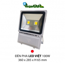 Đèn pha led  PHA LED 100w  Đỏ