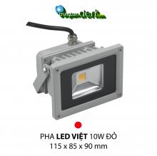 Đèn pha led  PHA LED 10W Đỏ