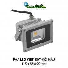 Đèn pha led  PHA LED 10W Đổi màu