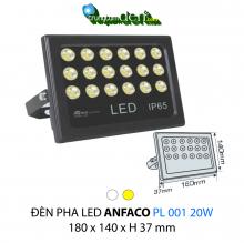 Đèn pha led  PL 001 20W