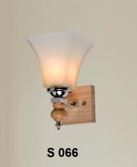 Đèn tường gỗ S 066