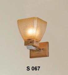 Đèn tường gỗ S 067