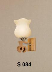 Đèn tường gỗ S 084