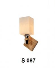 Đèn tường gỗ S 087
