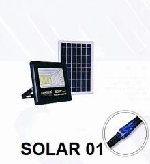 Đèn pha năng lượng  SOLAR 01
