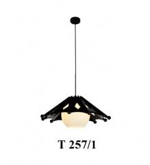 Đèn thả gỗ T 257/1