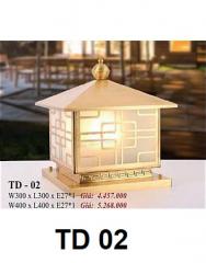 Đèn trụ cổng TD 02