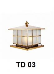 Đèn trụ cổng TD 03