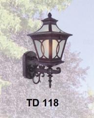 Đèn tường ngoại thất TD 118