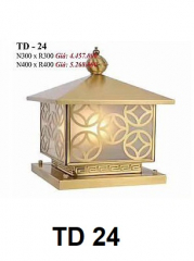 Đèn trụ cổng TD 24