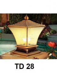 Đèn trụ cổng TD 28