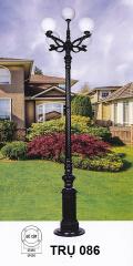 Đèn trụ sân vườn cao TRU 086