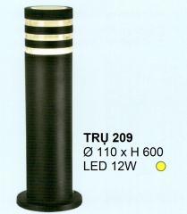 Đèn trụ thấp LED TRỤ 209