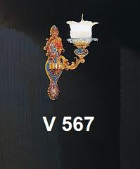 Đèn tường nến V 567