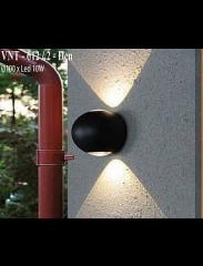 Đèn rọi ngoài trời LED VNT 612/2 đen